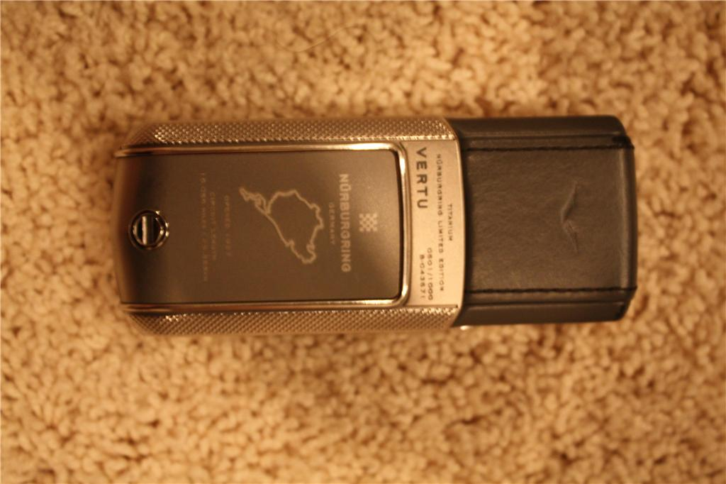 Authentic Vertu Nurburgring Racetrack Mobile Phone For