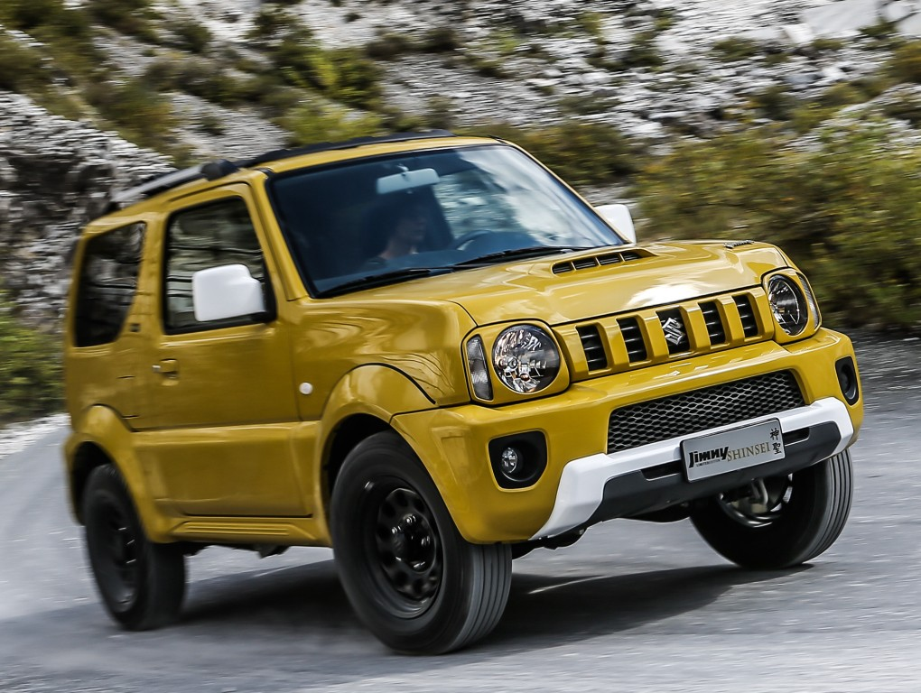2017 suzuki jimny confirmed to debut in 2016 autoevolution. Black Bedroom Furniture Sets. Home Design Ideas