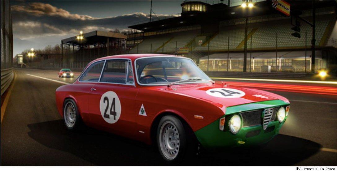 Avatar S Federico Alliney Creates Alfa Romeo Official Art