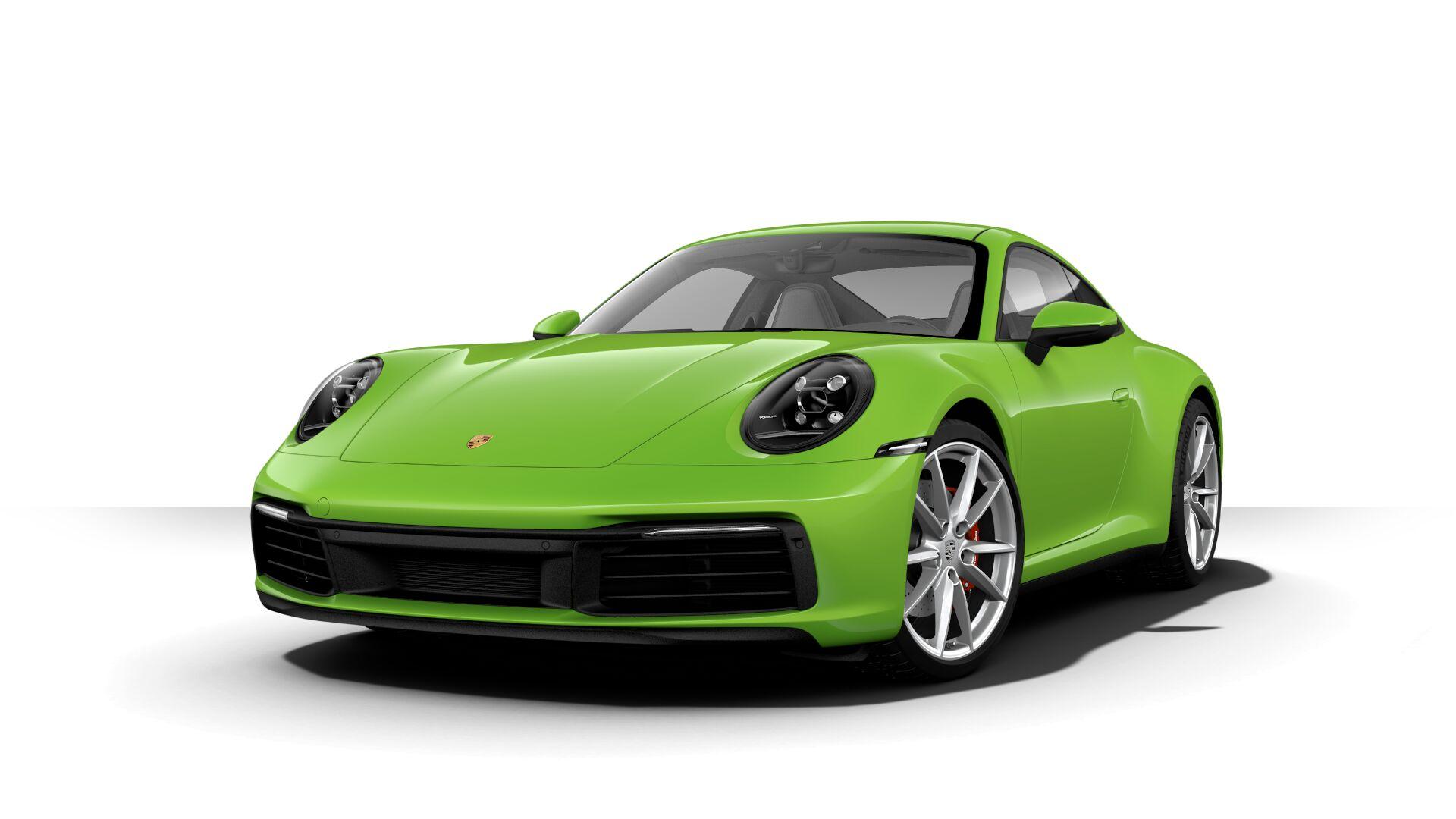 Aventurine Green Metallic 2020 Porsche 911 Shows Off Its
