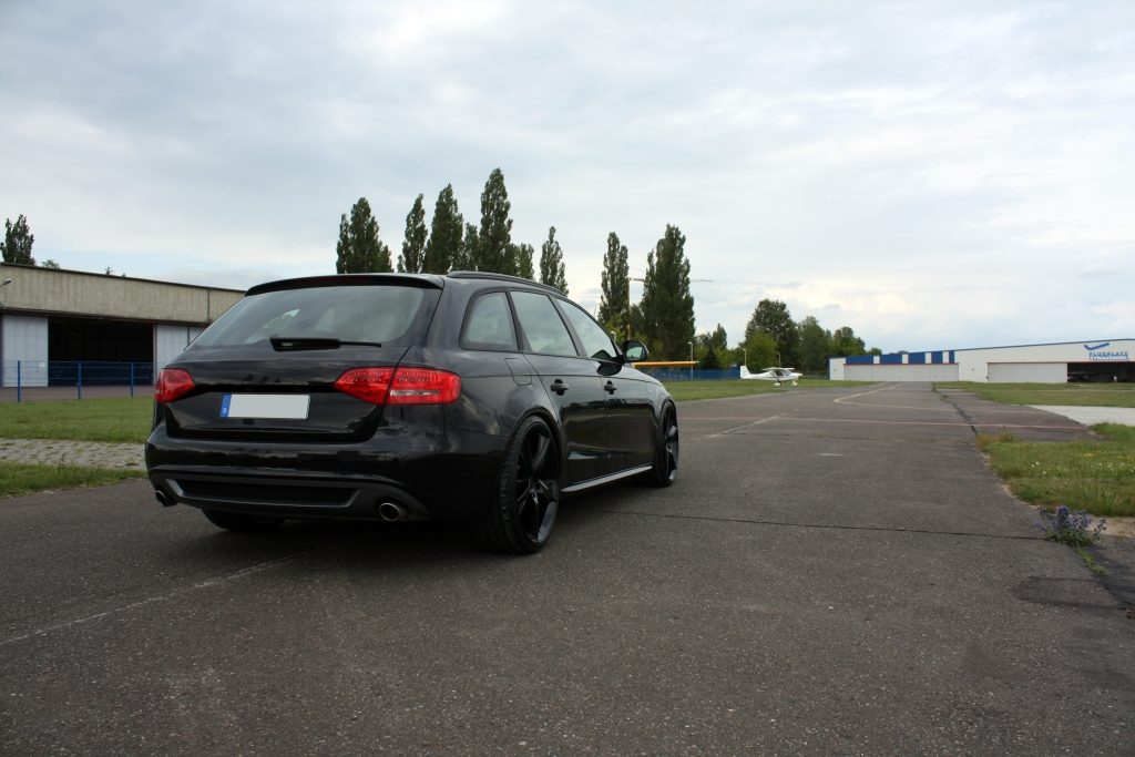 AVUS Performance Audi A4 Avant Black Arrow Released - autoevolution