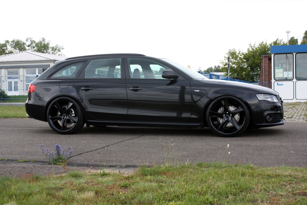 Avus Performance Audi A4 Avant Black Arrow Released