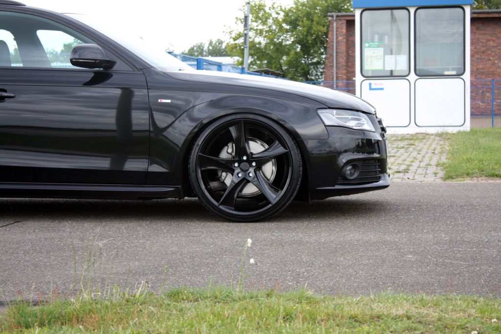 AVUS Performance Audi A4 Avant Black Arrow Released ...