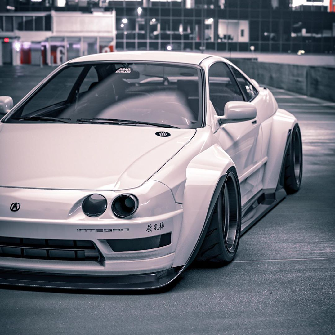 2016 Acura NSX Time Attack Monster Rendering Begs For A