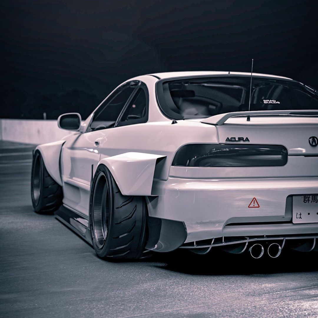 Awd Acura Integra Type R White Bunny Makeover Is Pure Jdm Autoevolution