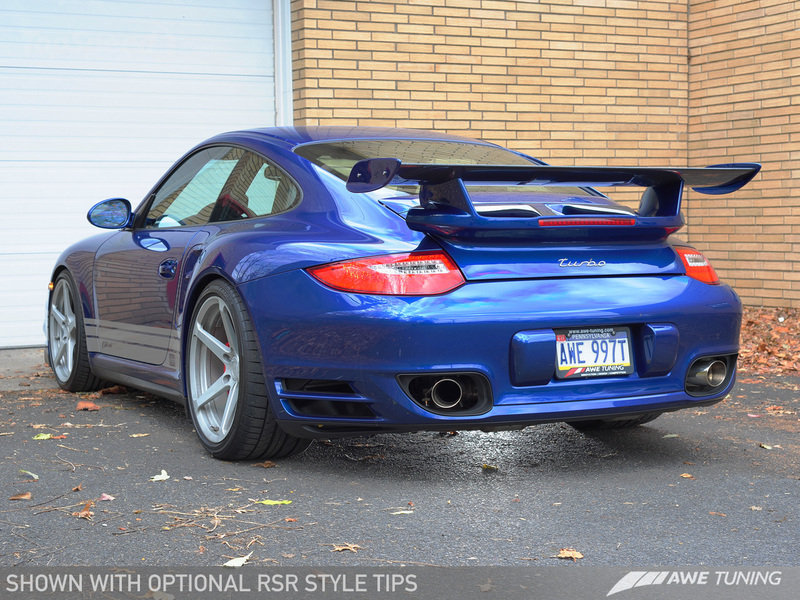 Awe Tuning Porsche 911 Exhaust Systems Introduced