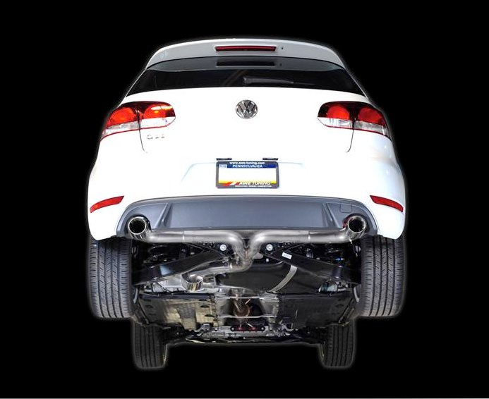 awe tuning volkswagen golf gti mk6 exhaust system released. Black Bedroom Furniture Sets. Home Design Ideas
