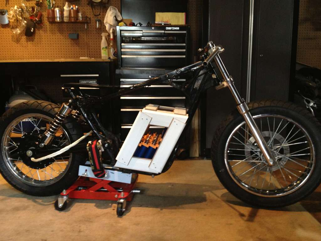 Storm Electric Bike >> Awesome DIY Battery Pack for Electric Motorcycle - autoevolution