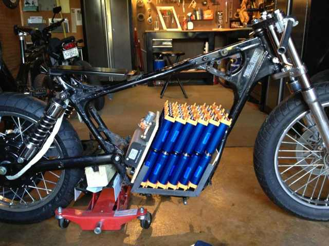 Awesome Diy Battery Pack For Electric Motorcycle