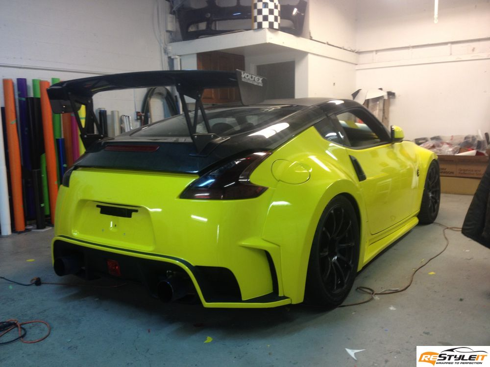 Awesome Nissan 370Z Wrapped by Restyle It - autoevolution