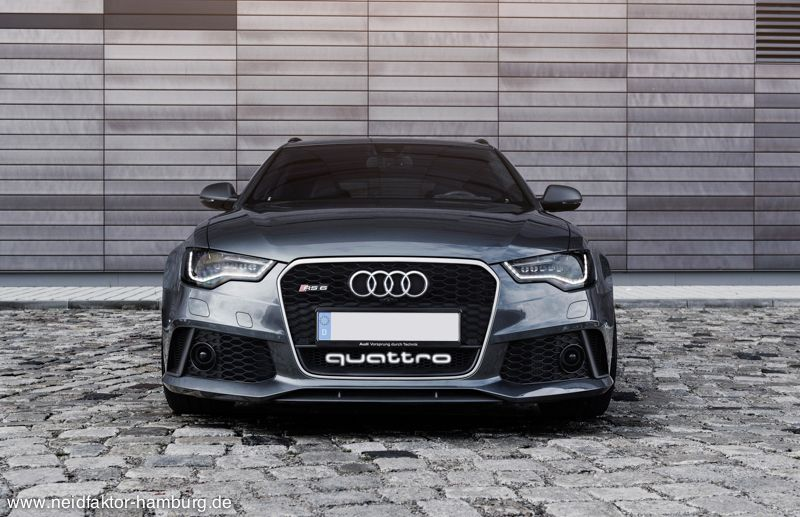awesome rs6 quattro logo lighting unit available for 700 from neidfaktor autoevolution. Black Bedroom Furniture Sets. Home Design Ideas