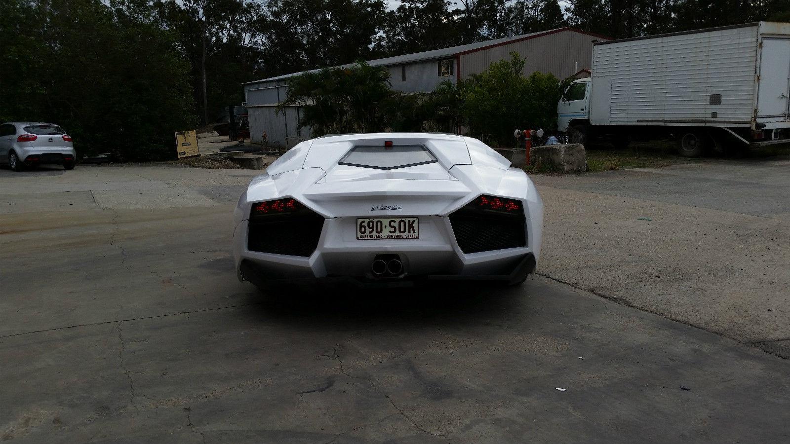 Lamborghini Veneno For Sale >> Awful Lamborghini Reventon Replica Fetches $28,000 Bid on ...