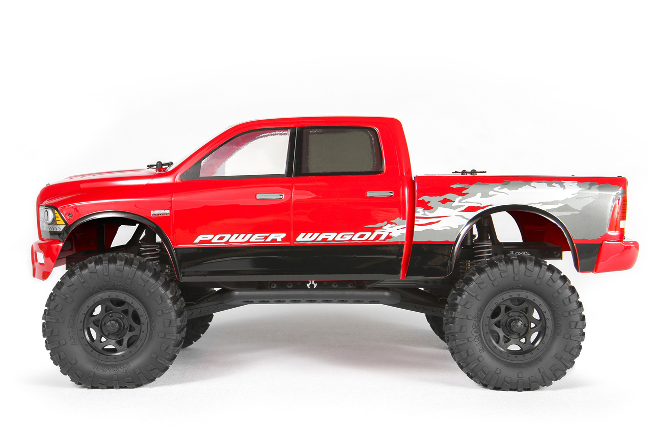 Axial Racing Releases Ram Power Wagon Rc Truck Photo Gallery Video on Toy Dodge Ram 3500