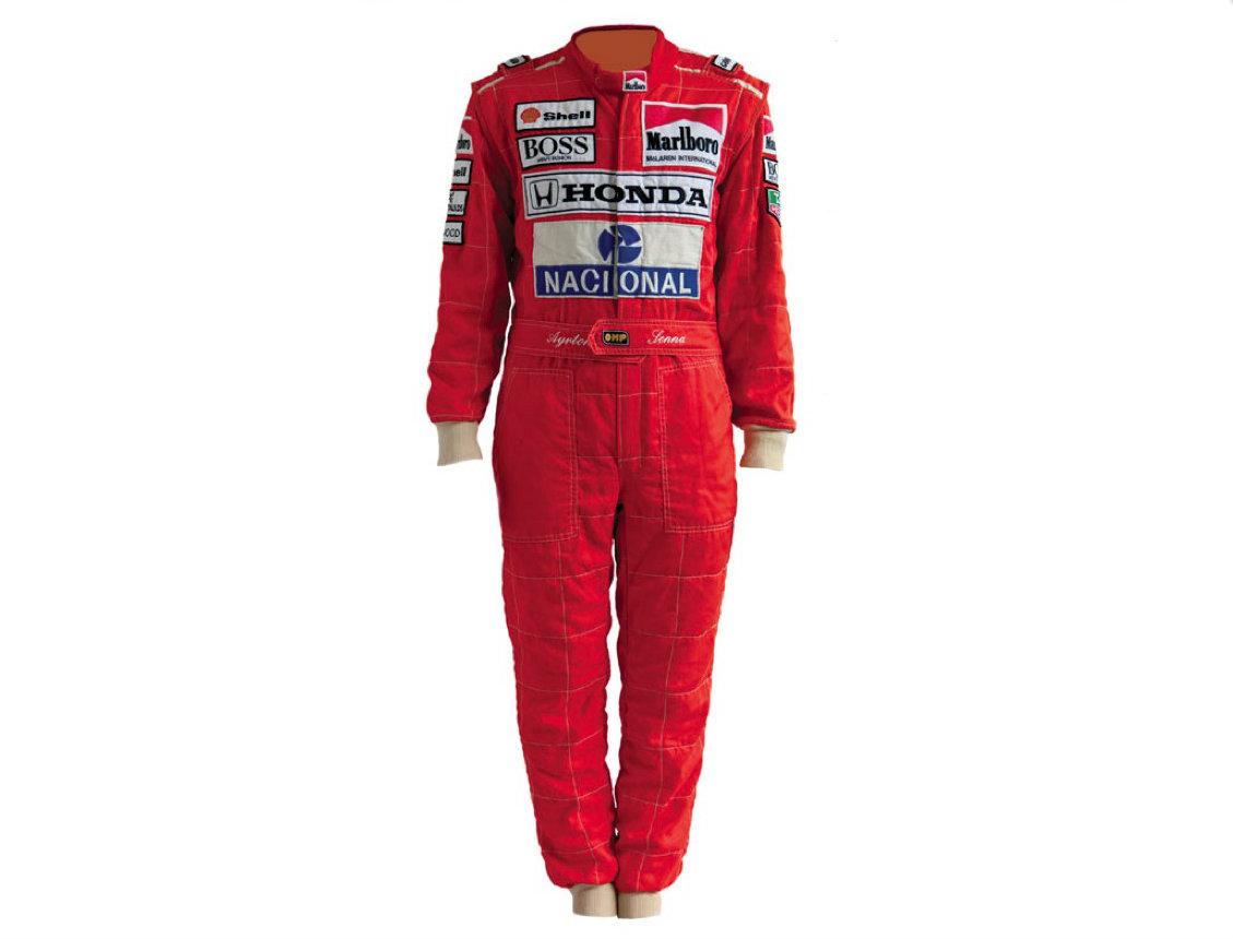 Ayrton Senna's 1991 Race Suit Up for Auction - autoevolution