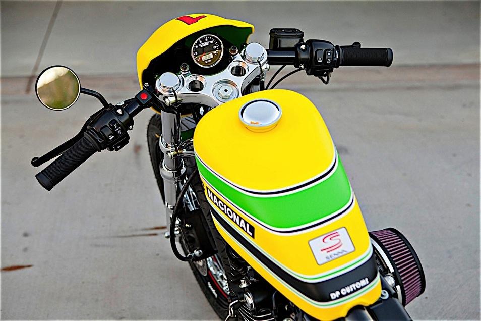 Ayrton Senna Tribute Bike
