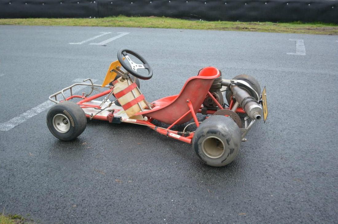 Ayrton Senna\'s Kart Heading to Auction [Video] - autoevolution