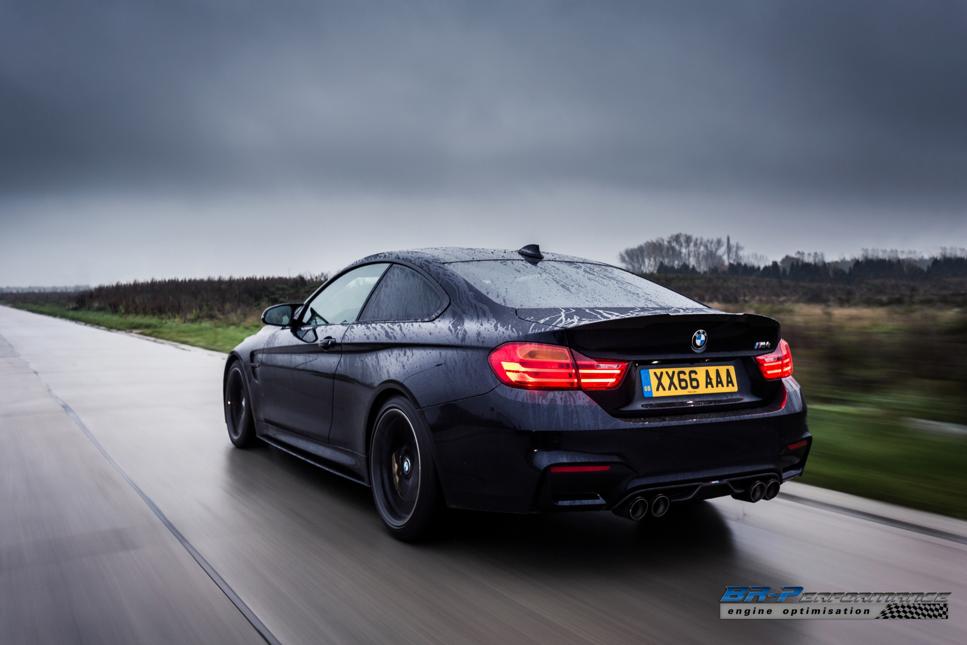 Azurite Black Bmw M4 From Br Performance Stole Our Soul