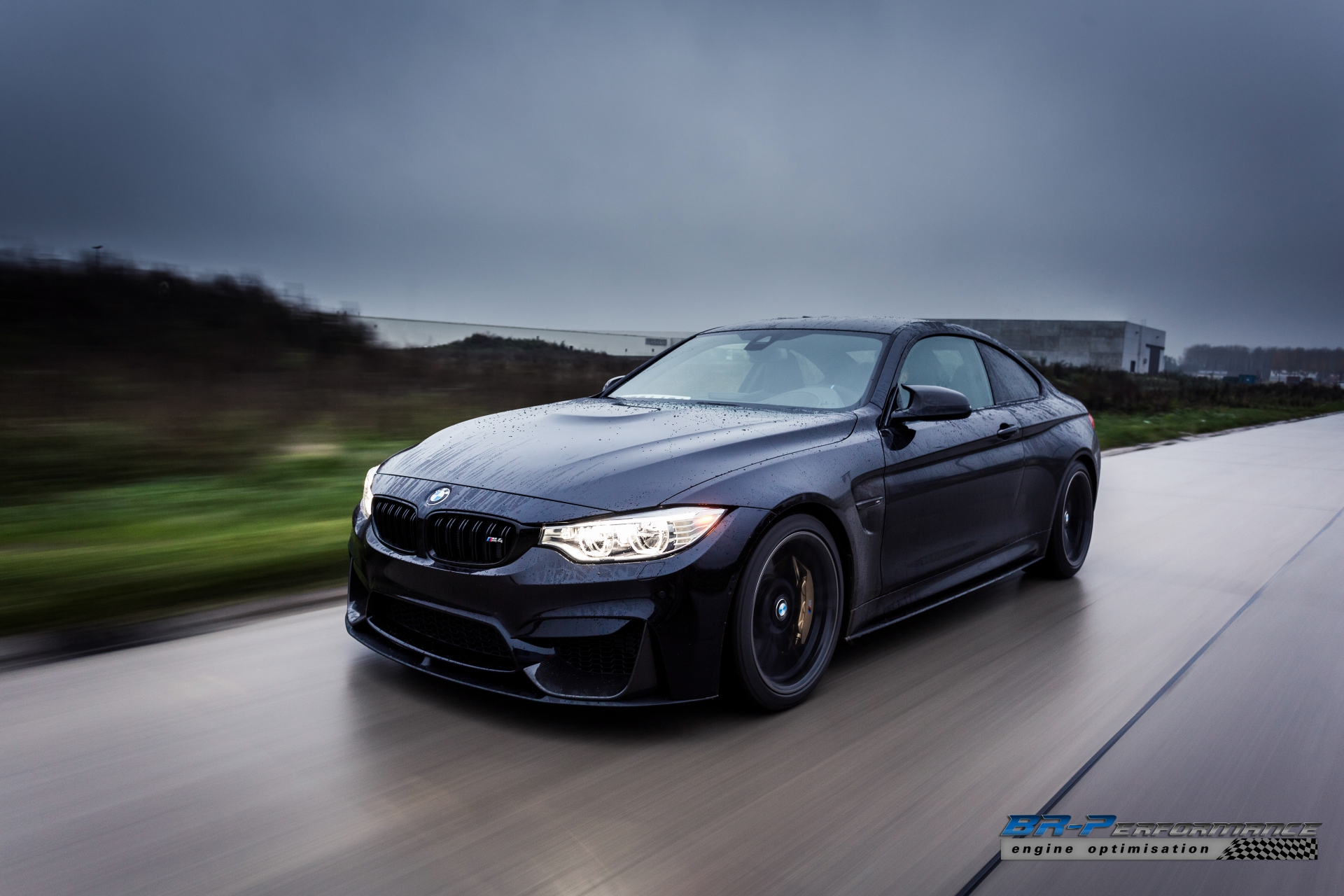 Azurite Black BMW M4 from BR-Performance Stole Our Soul ...