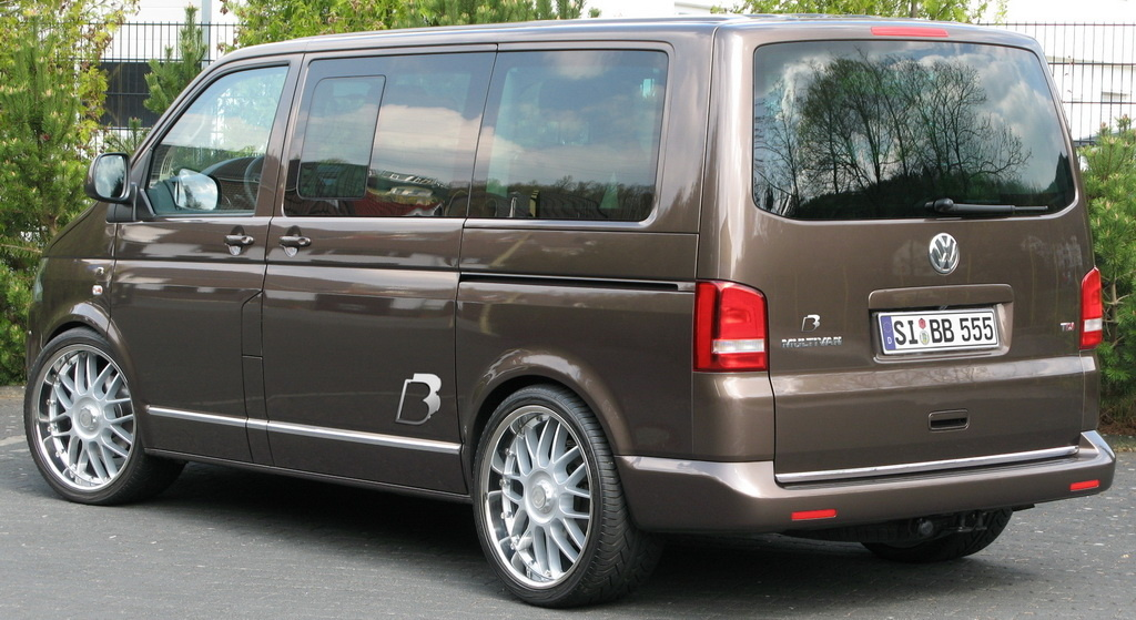 B Amp B Pumps Up The Volkswagen Transporter Autoevolution