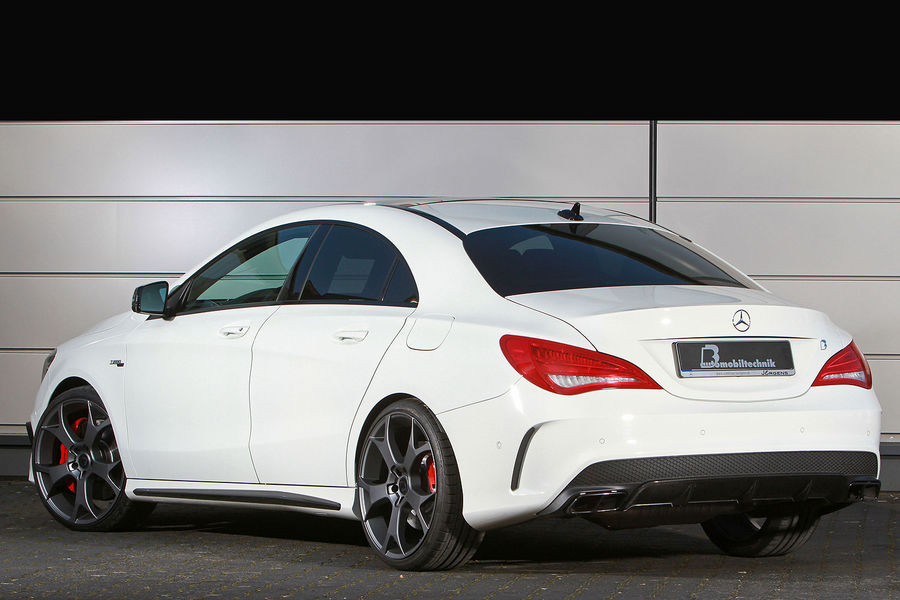 B b tunes mercedes benz cla 45 amg to 450 hp autoevolution for Mercedes benz amg cla 45