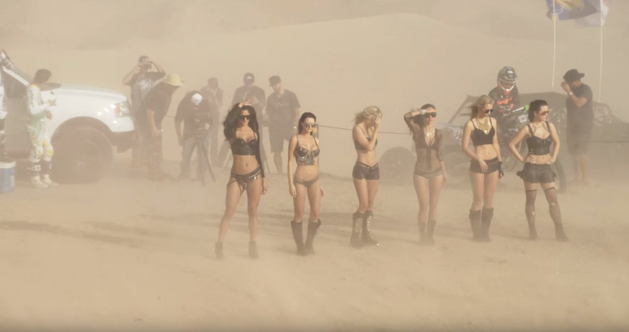 Babes In Skimpy Clothes Bikes Buggies Dunes And Fun
