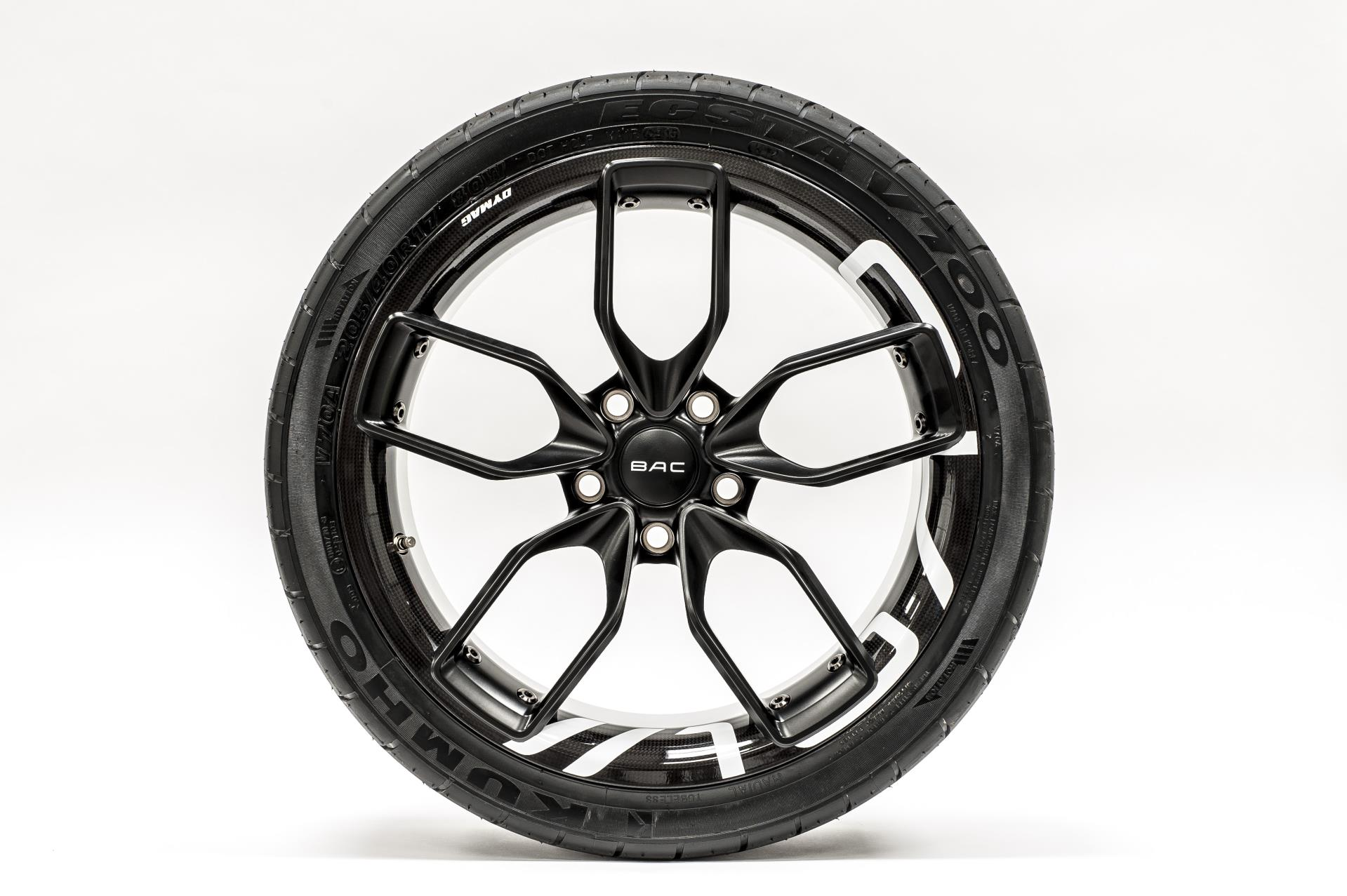 Bac To Showcase Carbon Composite Wheels At 2016 Goodwood