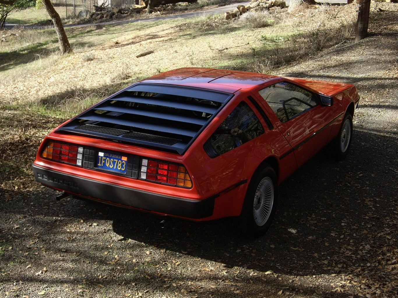Back to the Future - This DeLorean Shows Just 981 Miles on ...
