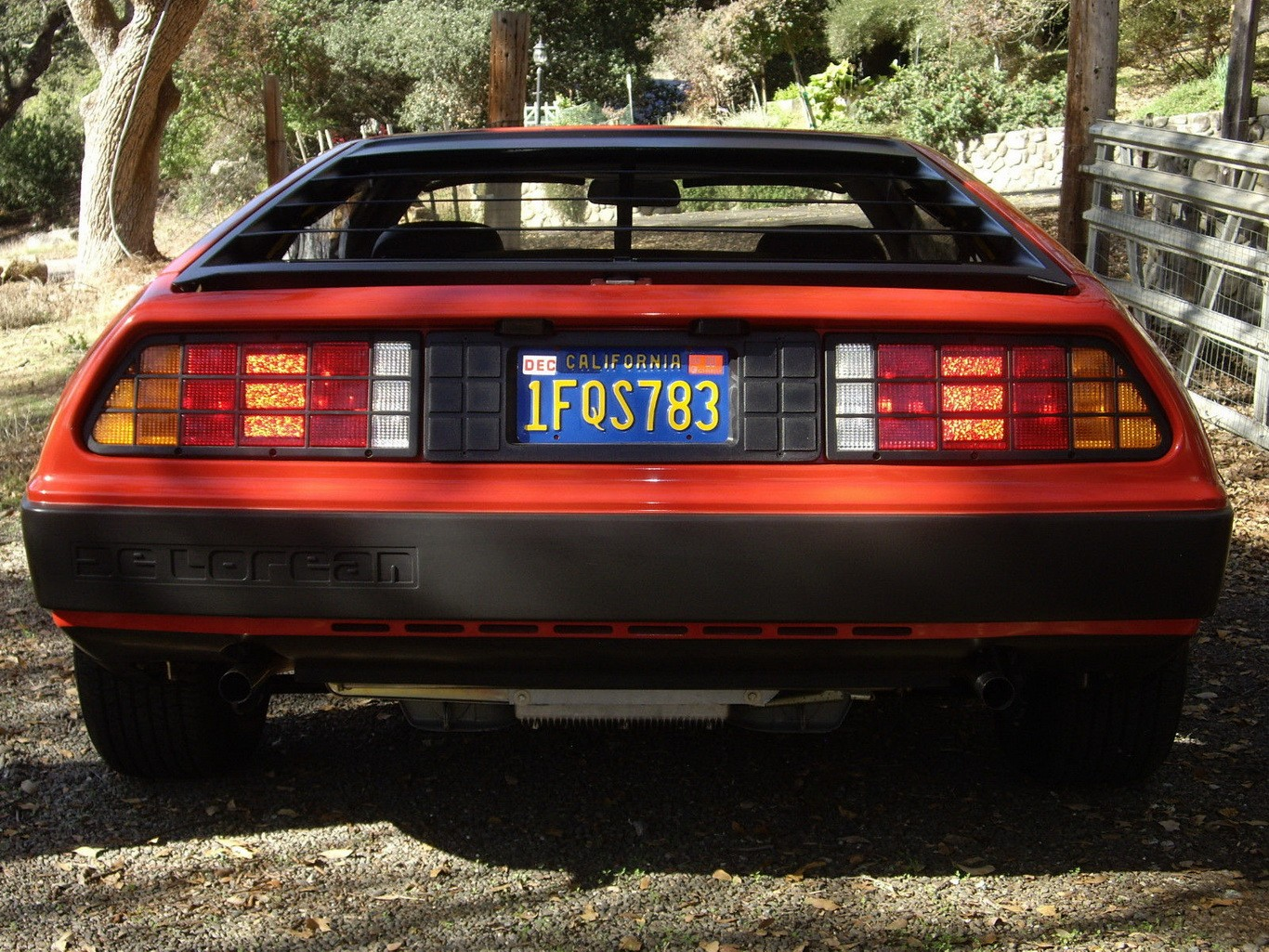 Back To The Future This Delorean Shows Just 981 Miles On