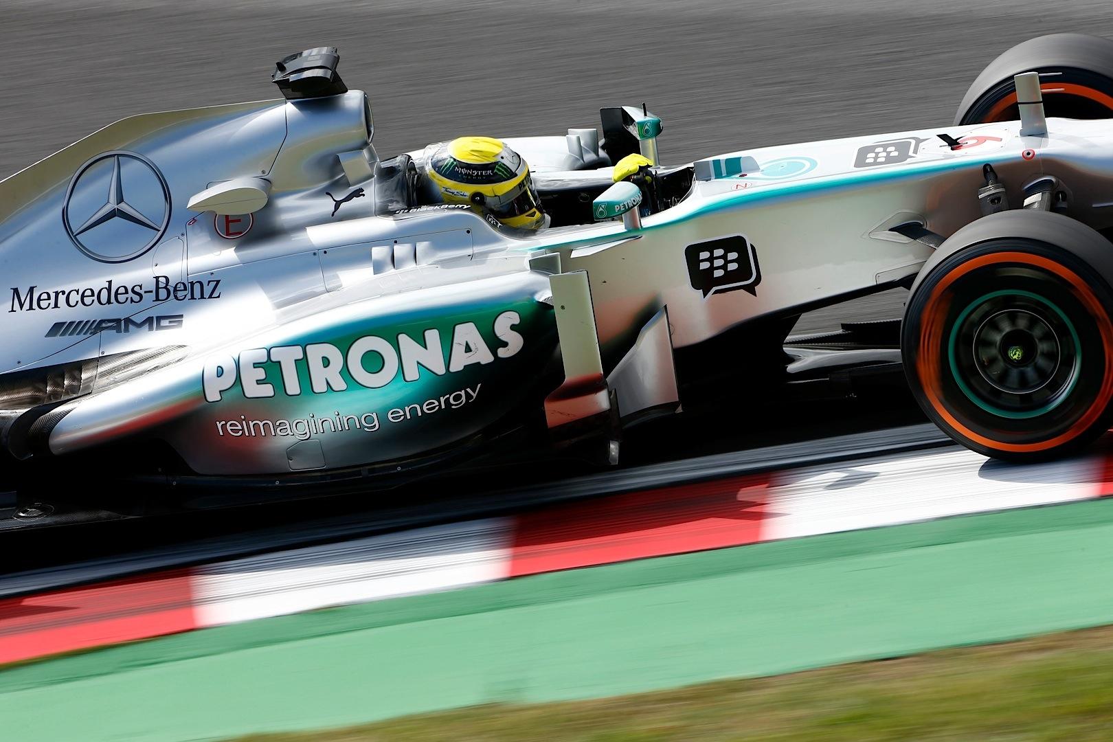 Mercedes Amg Petronas F Team Drivers