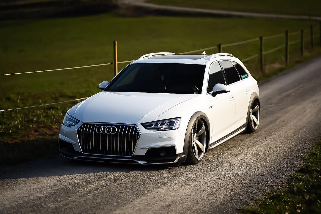 Bagged Audi A4 Allroad On Rs Wheels Is A Statement Autoevolution