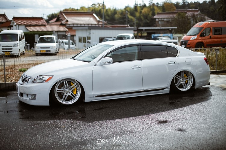 Bagged Lexus Gs Is A Nice Thing To Look At Autoevolution