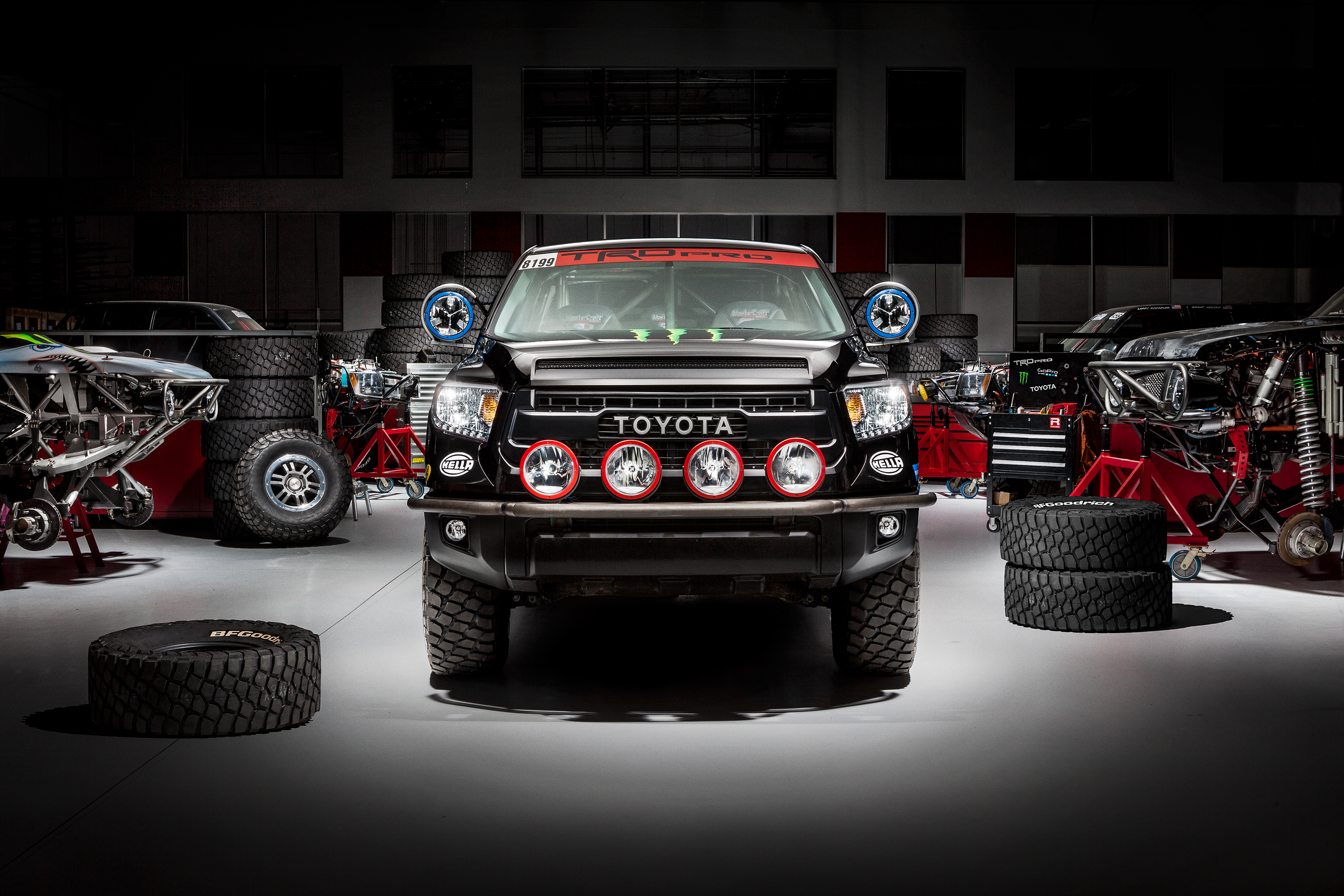 Toyota Tundra Diesel >> Baja 1000 Toyota Tundra TRD Pro Revealed: to Compete in Full Size Stock Class - autoevolution