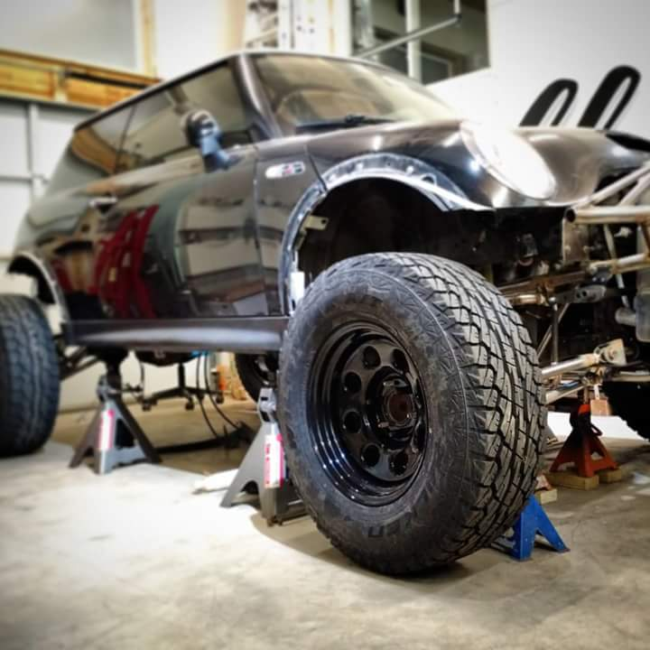Baja Mini With V8 Power Plans Is A Trolling Mobile