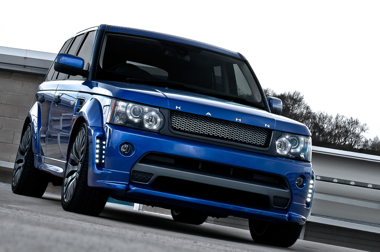 Bali Blue Range Rover Sport Rs300 By Kahn Autoevolution
