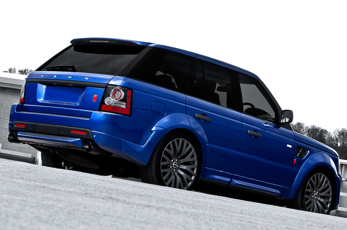 bali blue range rover sport rs300 by kahn autoevolution. Black Bedroom Furniture Sets. Home Design Ideas