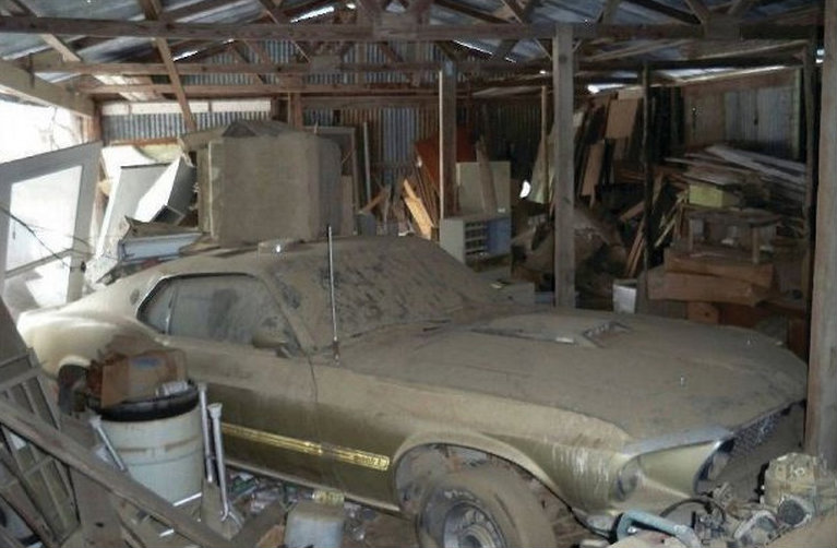 barn mustang find mach 1969 finds ford mustangs rare rarest tlc found junk serious pile needs cars muscle abandoned mustangandfords