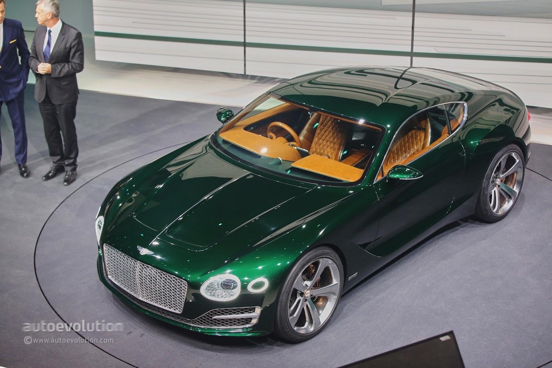 ... Bentley EXP 10 Speed 6 Concept At Geneva ...