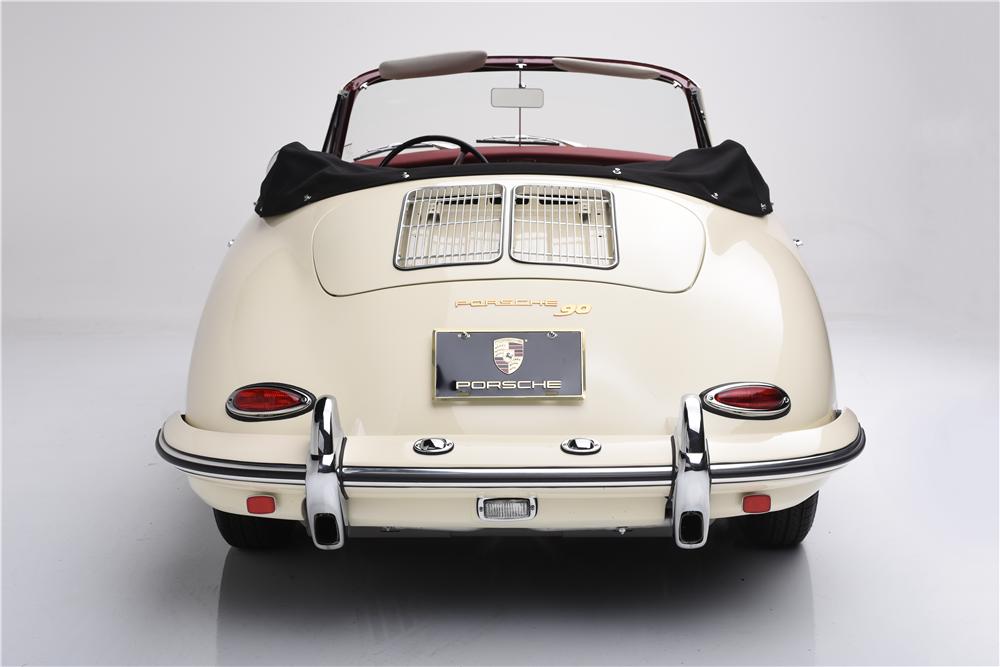 ... 1962 PORSCHE 356 SUPER 90 CABRIOLET ...
