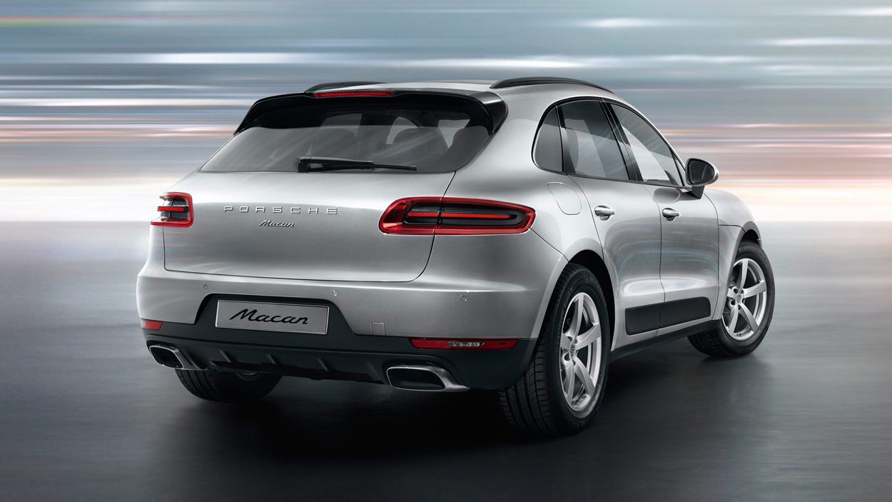 Base Porsche Macan with 237 hp 2-Liter Turbo Revealed ...