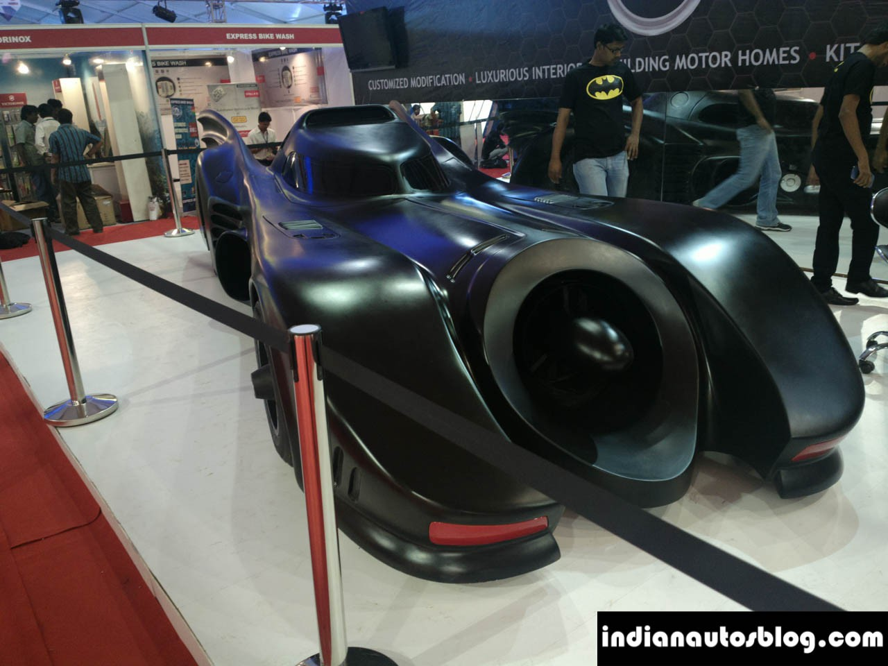 Batmobile Built On Mercedes Benz S Class Shows Up In India