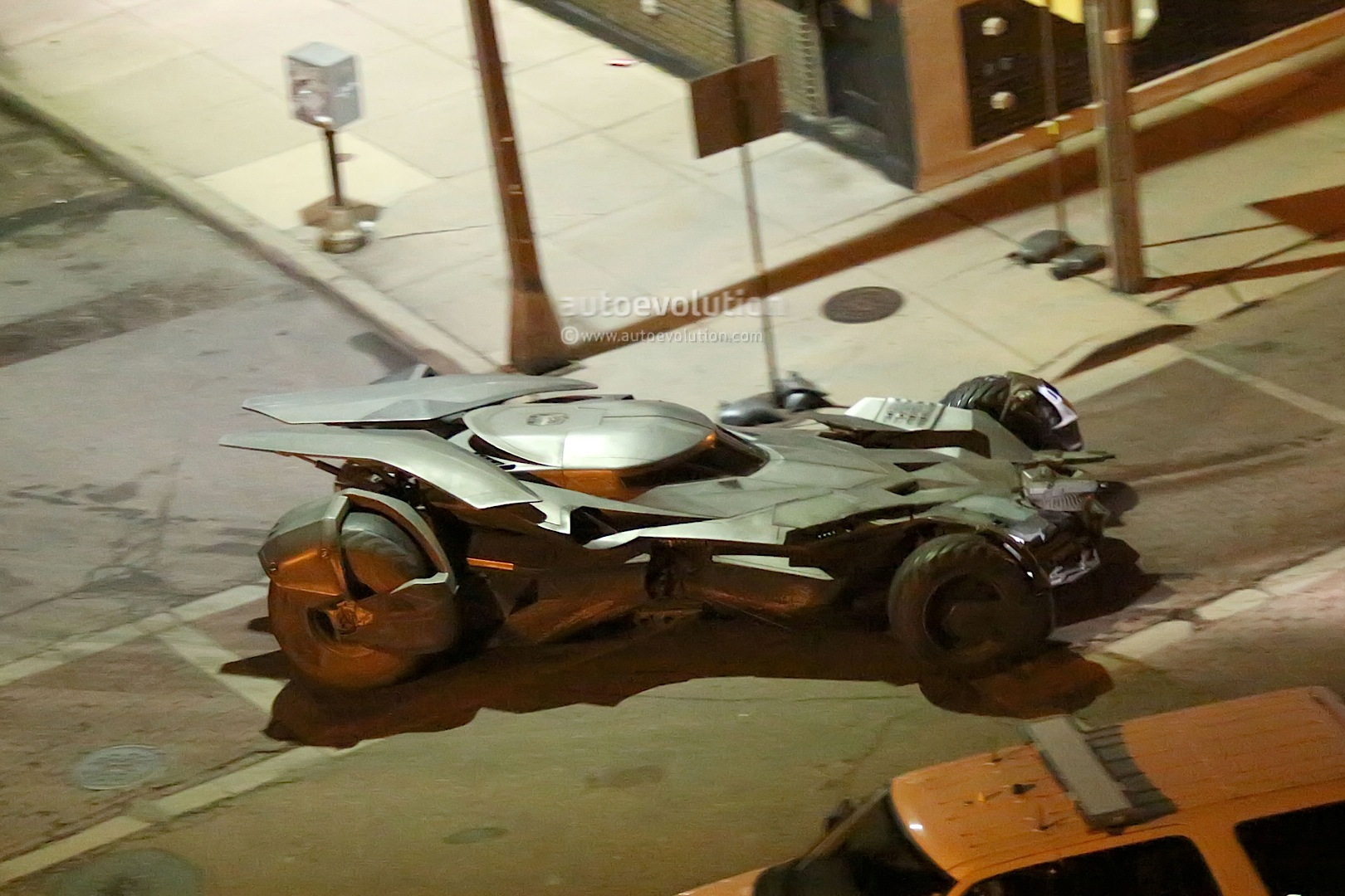 Batmobile From New Batman Vs Superman Movie Revealed