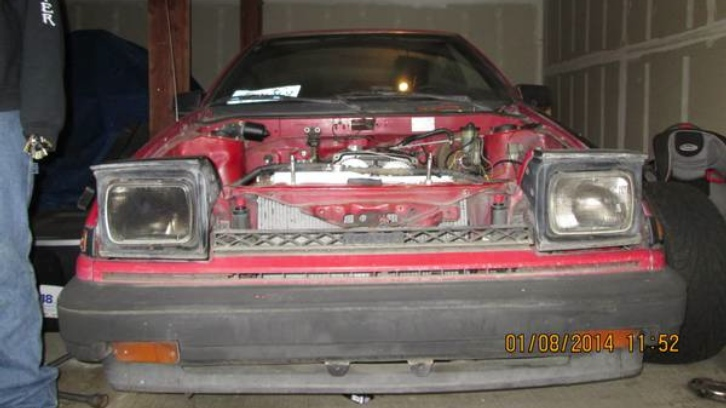 Battered Toyota Corolla AE 86 Looking for Affection on Craigslist