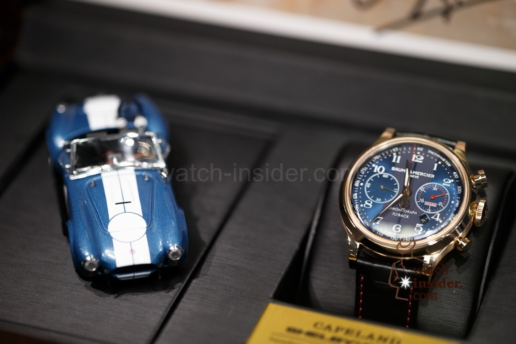 partners watch up red shelby chronograph baume watches flyback mercier gold for with capeland carroll cobra news anniversary