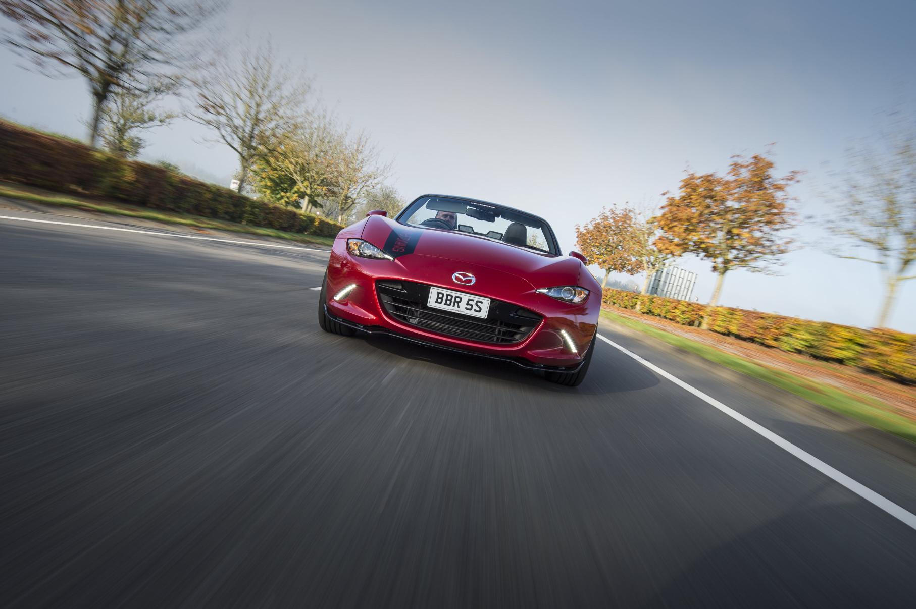BBR Unveils Engine and Chassis Program for the Mazda MX5 - autoevolution