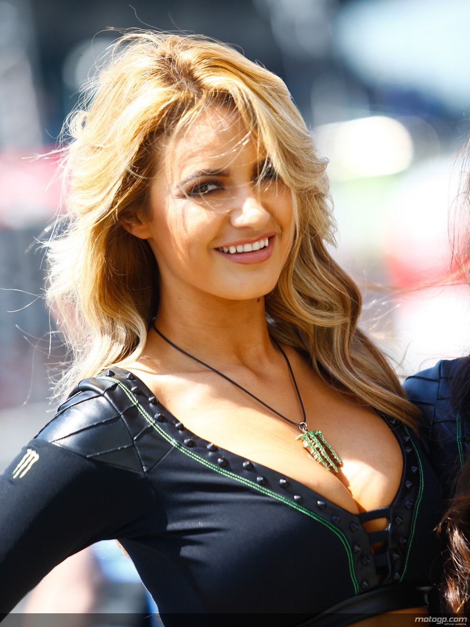 Beautiful French Paddock Girls At Le Mans 2014