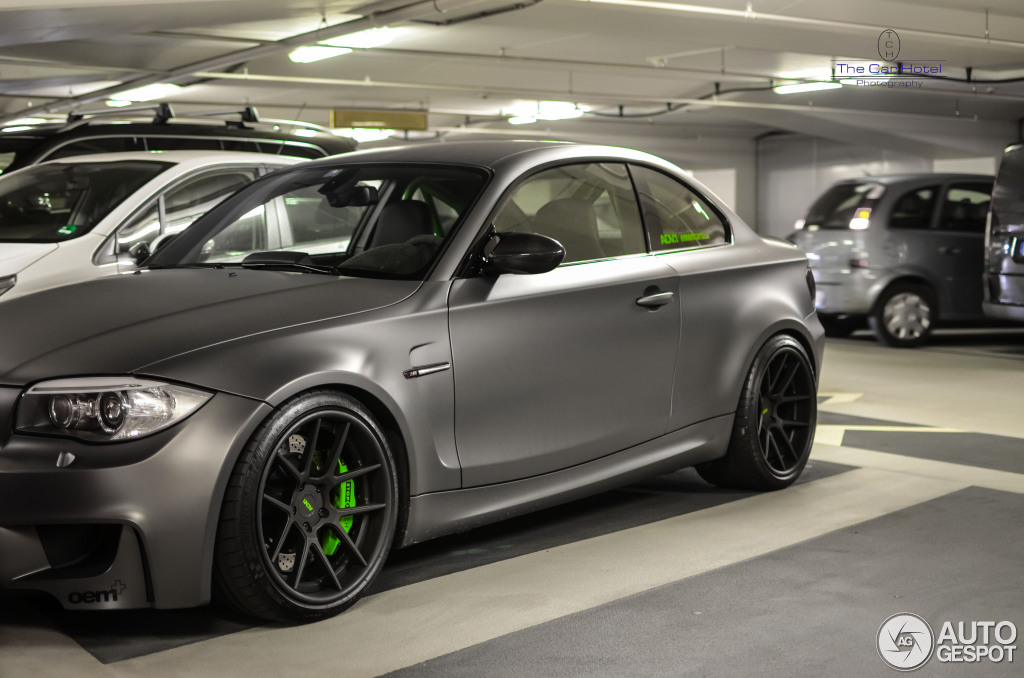 Beautiful Matte Grey BMW 1M Coupe Spotted in Germany - autoevolution Lexus Enthusiast