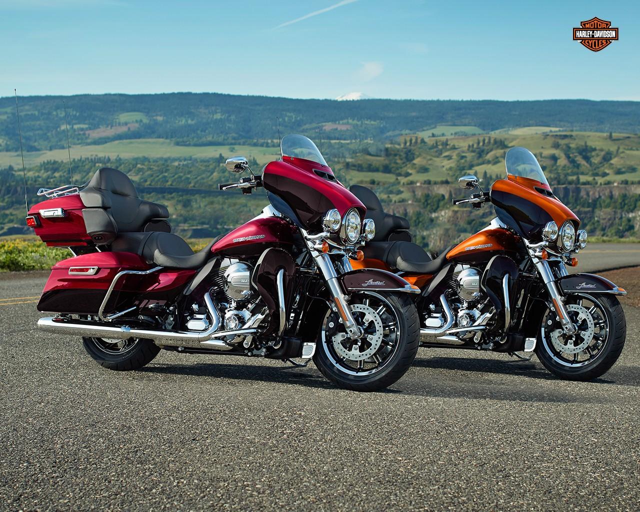Harley Davidson: Behold The 2015 Harley-Davidson Ultra Limited & Low