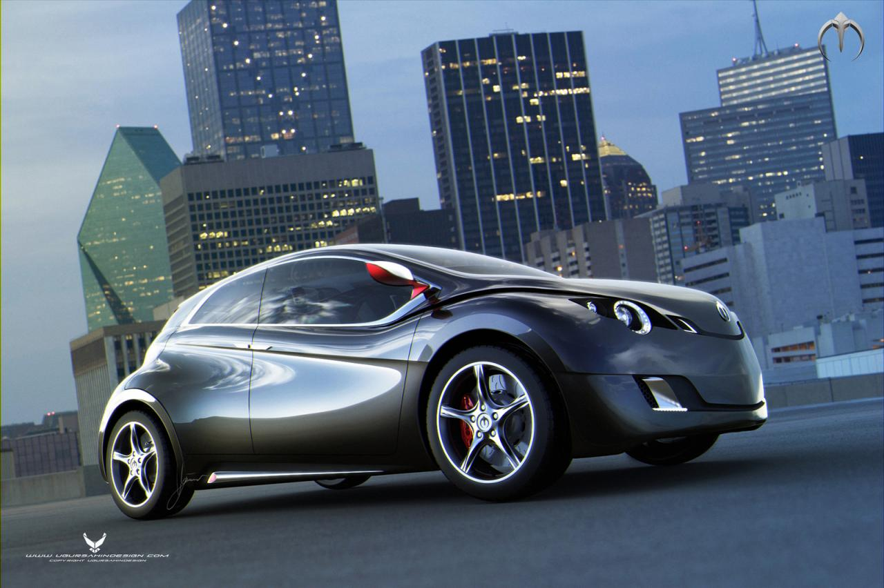 Future Of The Car: Behold The Electric Car Of The Future, But Only In