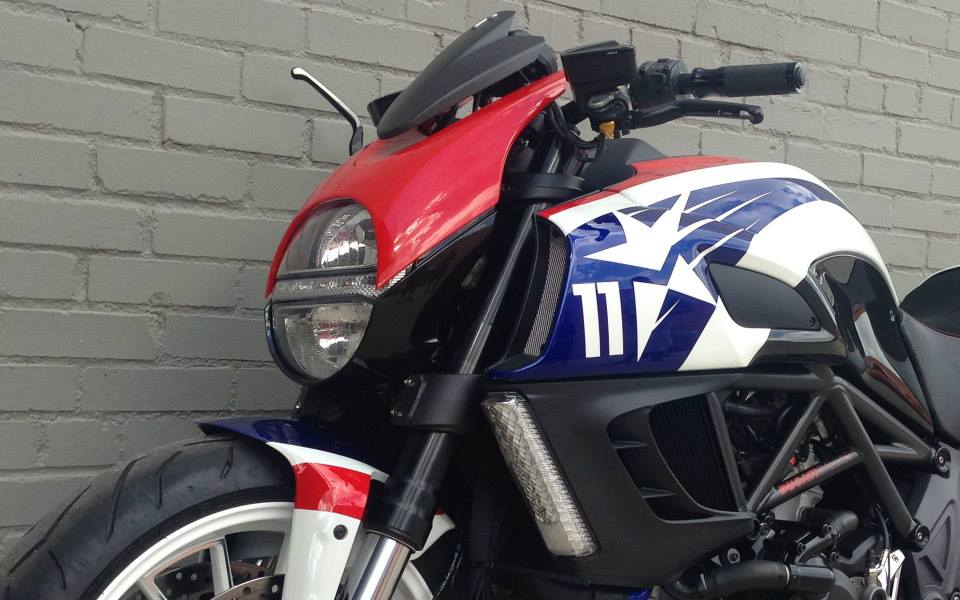 Ducati Diavel Headlight