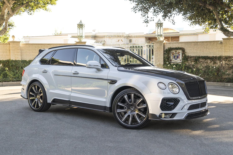Bentley Bentayga Gets Mansory Body Kit And Forgiato Wheels
